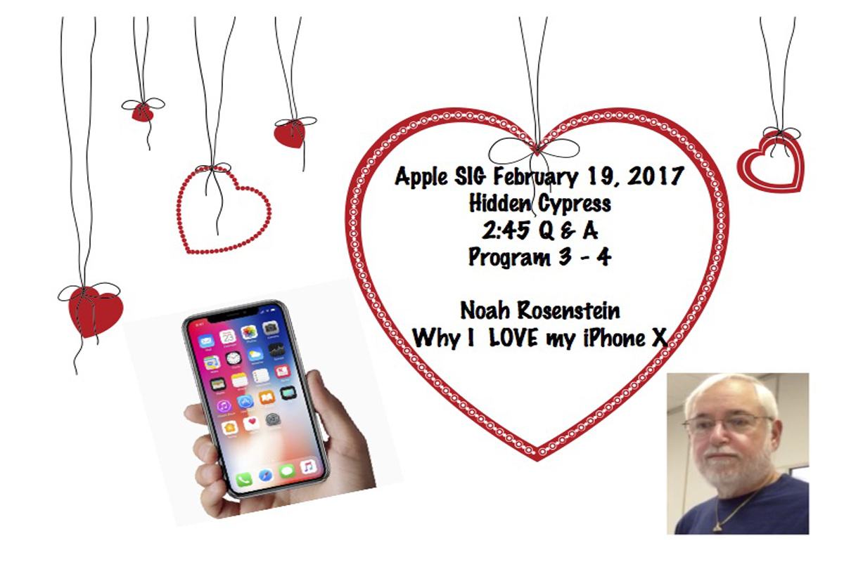 Join us to learn about the iPhone X
