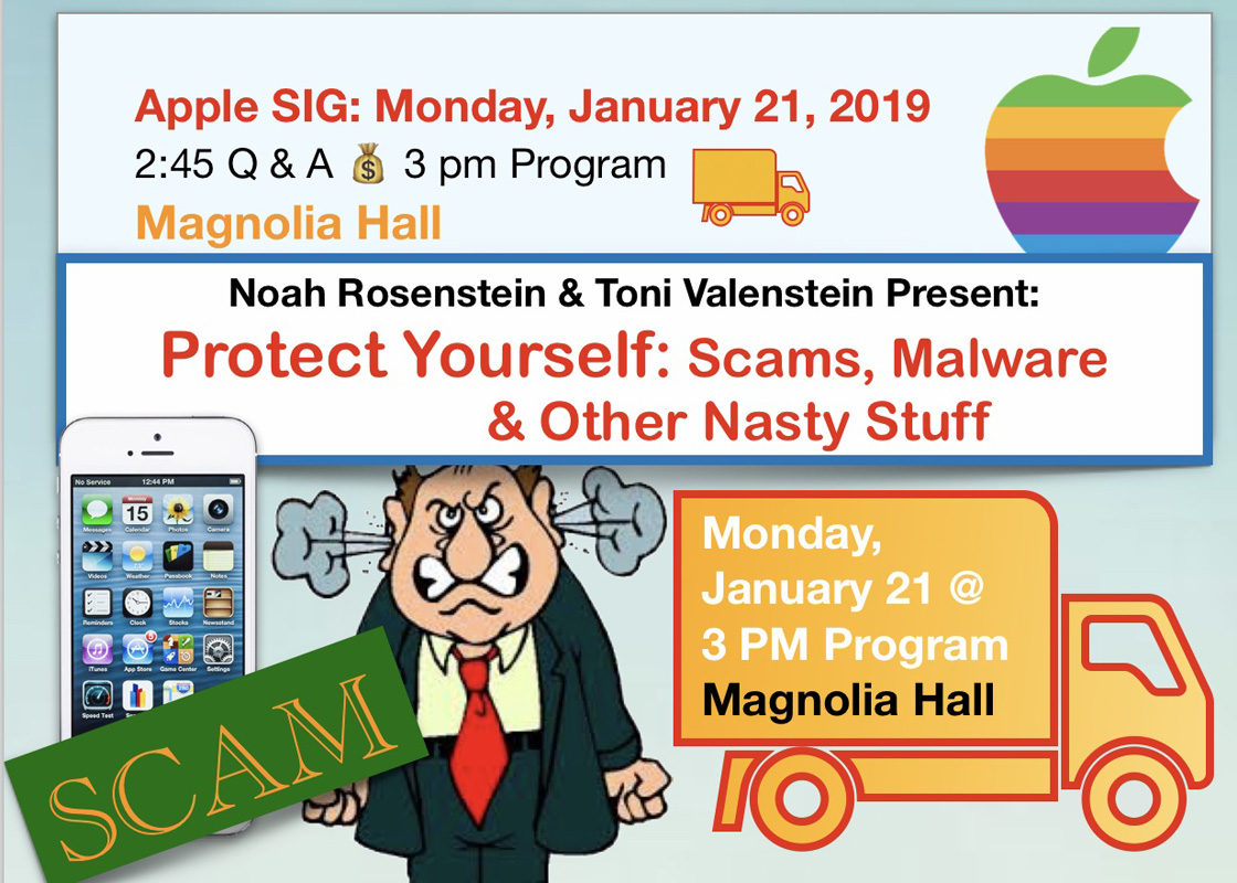 Learn to protect yourself with Noah Rosenstein & Toni Valenstein