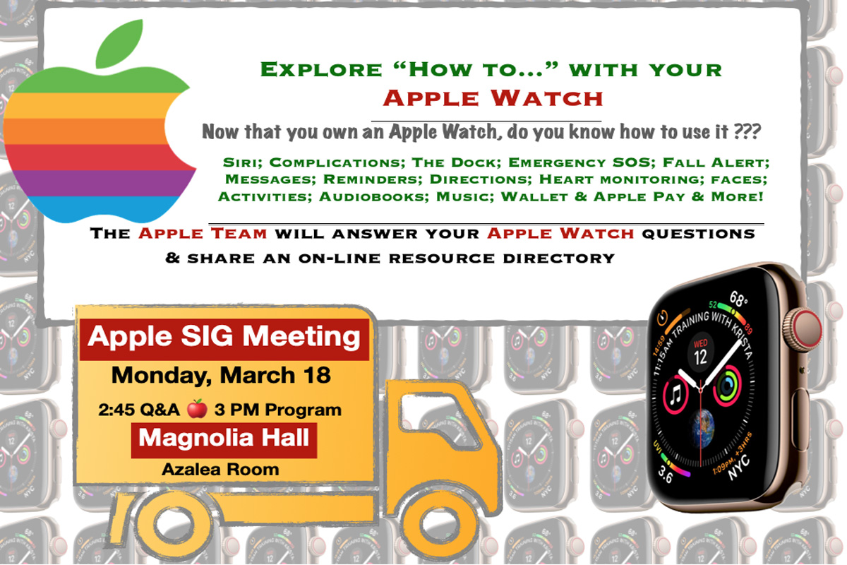 Join us to discuss many of the major features of this amazing device.